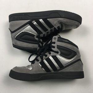 Adidas zapatos hombre  negro Silver Hitop 45 A75 poshmark